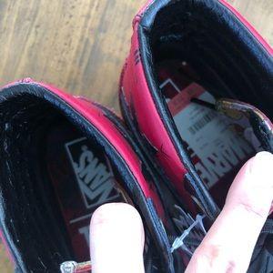 e3274b39537 Vans Shoes - Vans Sk8-Hi Marvel Deadpool with tags